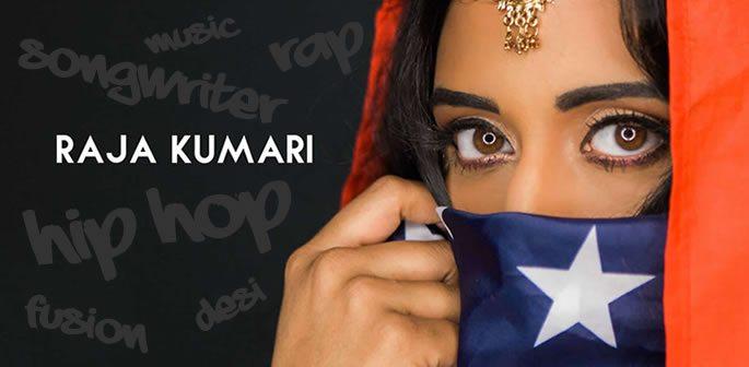 Raja Kumari is a Desi Hip Hop 'Daughter of the King'