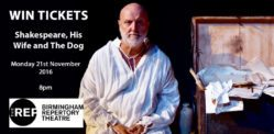 Win Tickets to see Shakespeare, His Wife, and The Dog at the REP