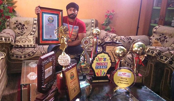 Amandeep Singh has appeared on and won various Indian TV shows