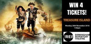आरईपी में ट्रेजर आइलैंड देखने के लिए टिकट जीतें
