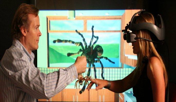 Virtual Reality Spider Therapy