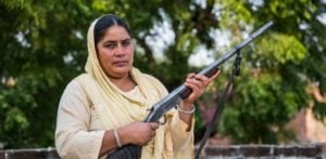 Indian Aunt with a Gun Protects Girls from Sex Attacks