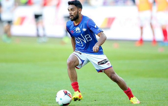 Ghayas Zahid is playing for Valerenga in Norway