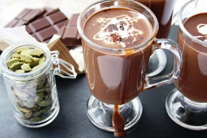Vegan Spiced Hot Chocolate