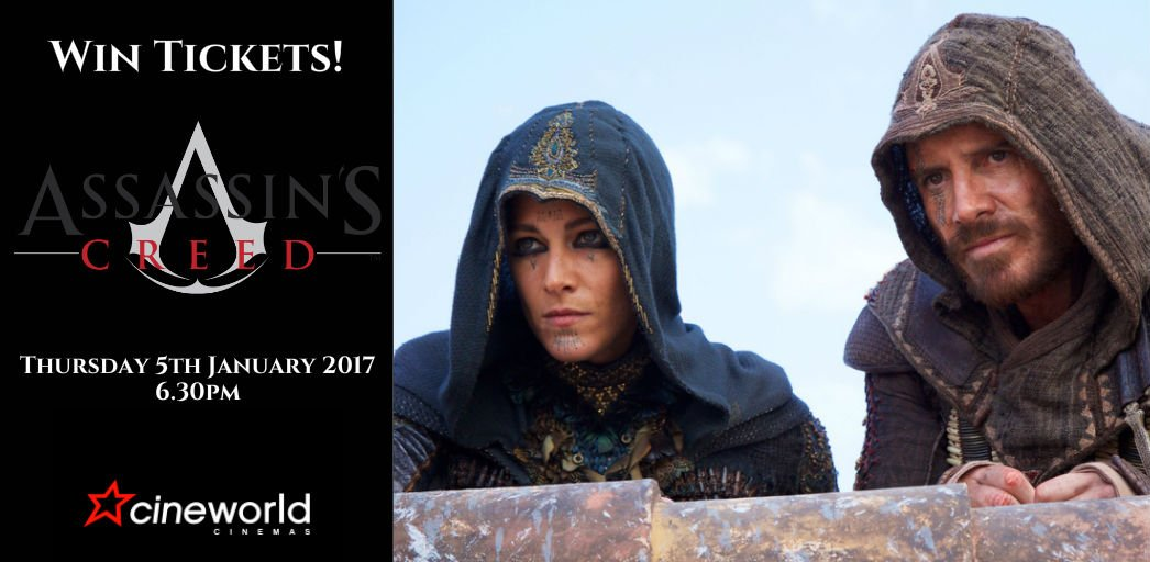 Win Tickets to see Assassin's Creed