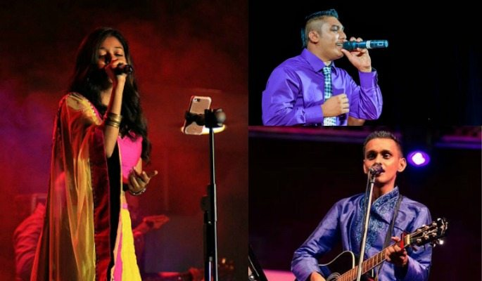 Neelam, Sathyam, Viresh and Amrish are Freestyle's four singers from Suriname