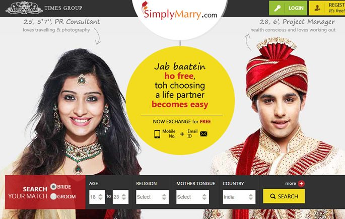 How the Internet is Helping Indians Marry