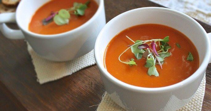 उरलेला मसालेदार सूप