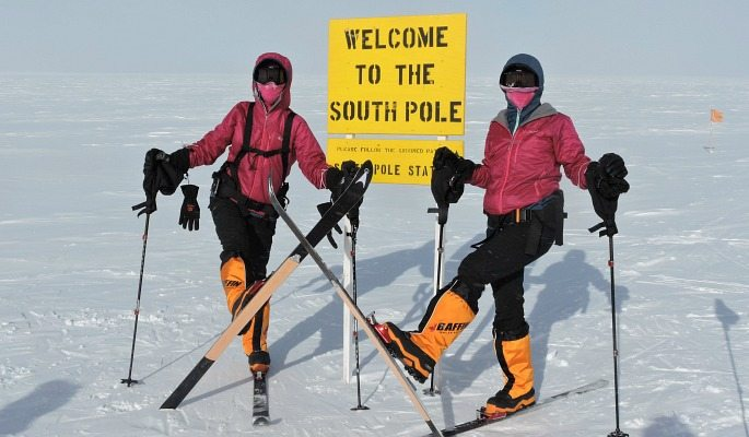 Nungshi and Tashi Malik reached the South Pole in 2015