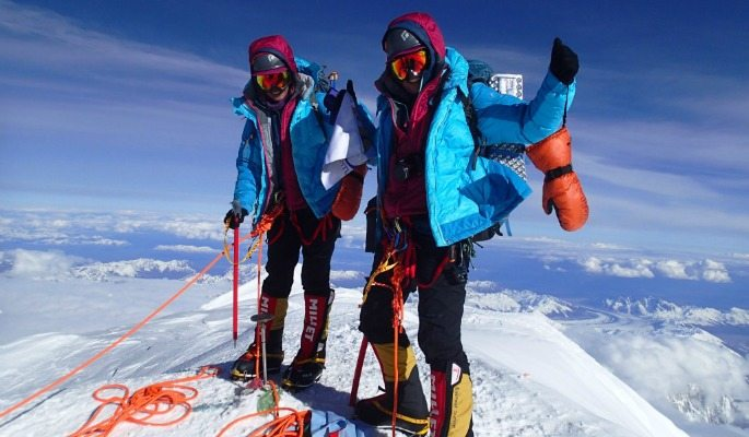 The twins plan to climb Mount Cook in December 2016