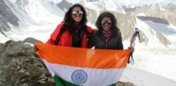 Nungshi and Tashi Malik talk Explorers Grand Slam Record