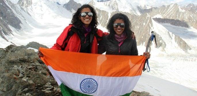Nungshi and Tashi Malik talk their Explorers Grand Slam Record