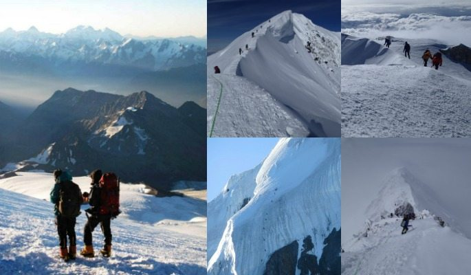 The explorers grand slam involves climbing the Seven Summits and reaching the North and South Pole