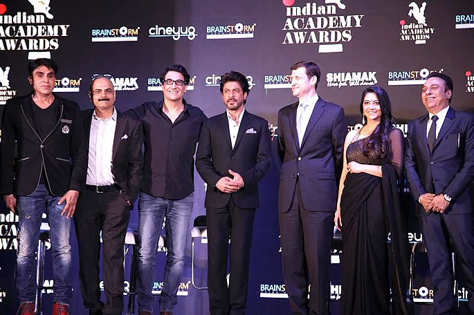 Shahrukh Khan launches First Ever Indian Academy Awards