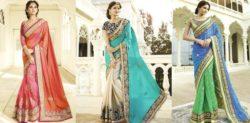 Gorgeous Fashion Saree Trends for 2017