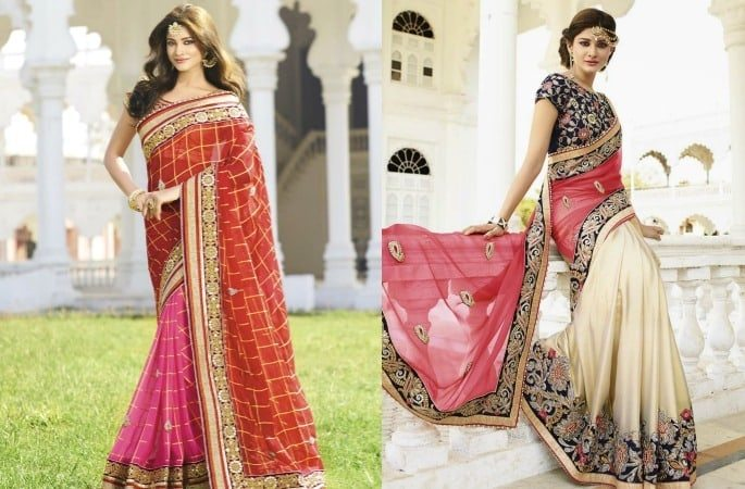 Gorgeous Fashion Saree Trends for 2017