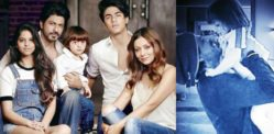 Shahrukh Khan spends Quality Time with Family