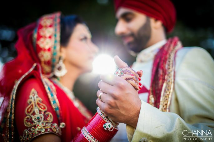 An Elegantly Romantic Wedding by Channa Photography