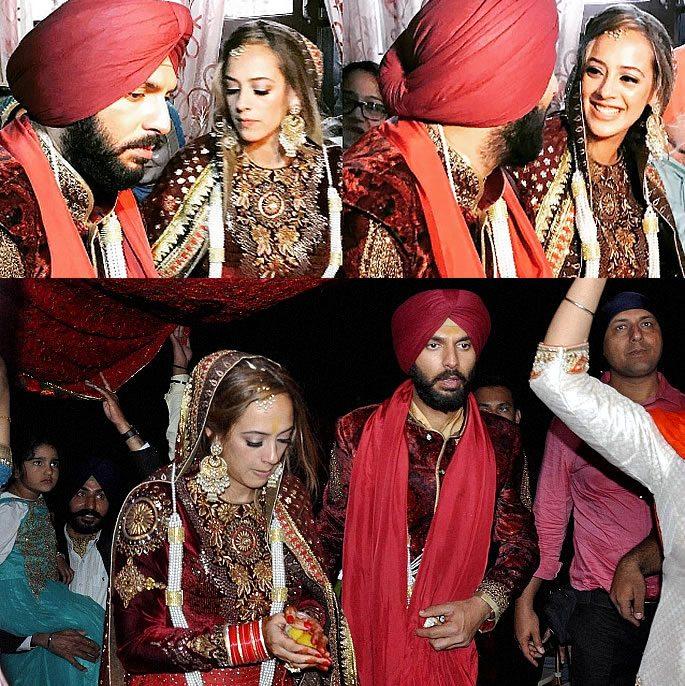 क्रिकेटर युवराज सिंह ने हेज़ल कीच से शादी की