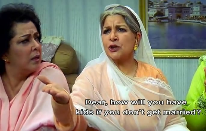 desi aunties getting married