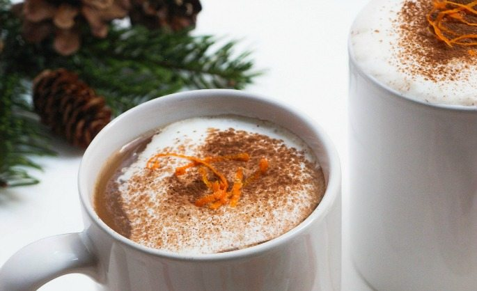 Vegan Orange Hot Chocolate