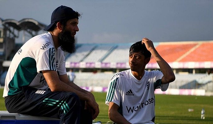 Hameed takes inspiration from experienced players such as Moeen Ali