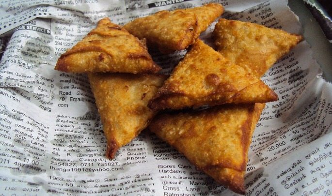 Asian Bake Off Samosa