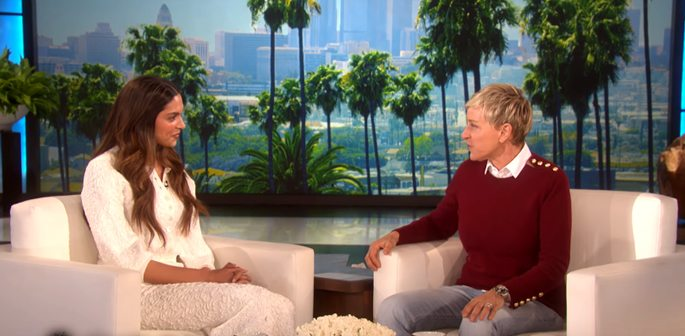 Deepika talks Romance with Vin Diesel on The Ellen Show