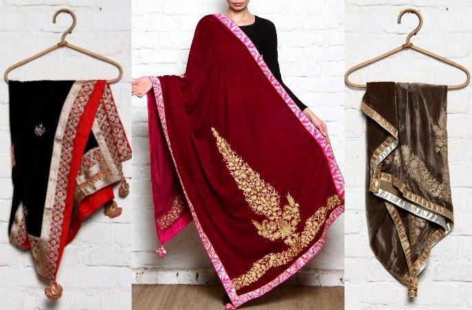 Luxurious Velvet Shawls for Winter- Image 7