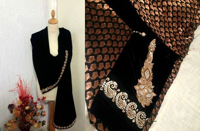 Velvet Shawls ~ The Luxurious Trend for Winter