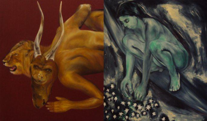 Manu Singh Speaking Her Heart Through Paintings