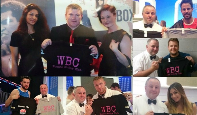 Ricky Hatton, Amir Khan, Freddie Flintoff, Nicole Scherzinger, Jack Whitehall, Jamie Redknapp, and James Corden have all shown support for the Womens Boxing Club