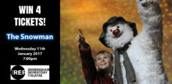 Win Free Tickets to see The Snowman at The REP