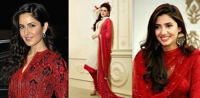 Lovely Red Salwar Kameez for Valentine's Day