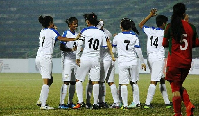 The Indian women's football team have never lost a SAFF Championship match