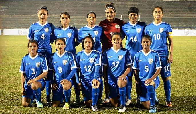 The Indian women's football team is ranked number 54 in the world by FIFA