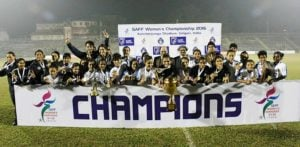 Indian Women's Football Team Wins SAFF Championship Title