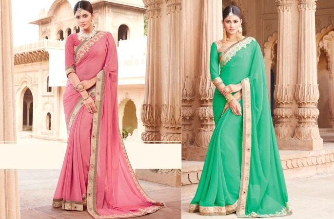 The Distinct Style of Palav Sarees