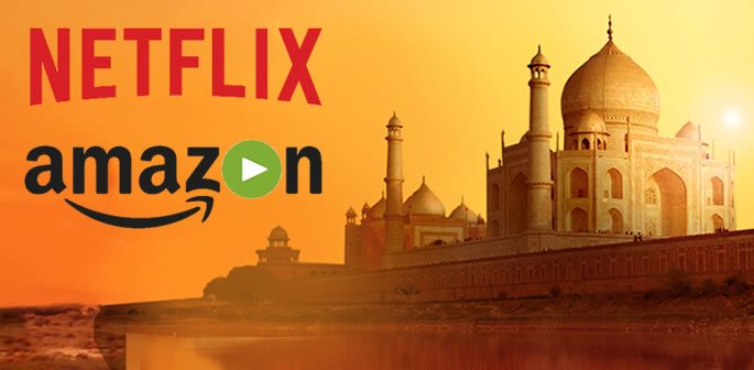 Netflix and Amazon Prime rivalry Heats Up in India