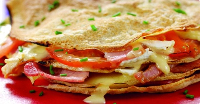 Bacon Brie Unusual Pancake Recipes