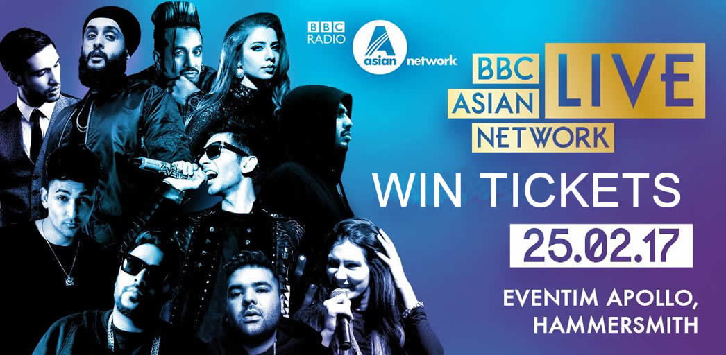 Win Tickets for BBC Asian Network Live 2017