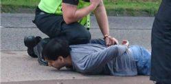 एशियन नाइफमैन कार पर बच्चों के साथ हमले के बाद जेल गए