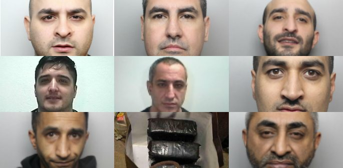 Bradford Gang Jailed for Drug Haul Worth Around £2M