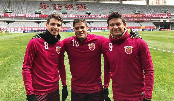 Oscar and Hulk are the two biggest transfers into the CSL