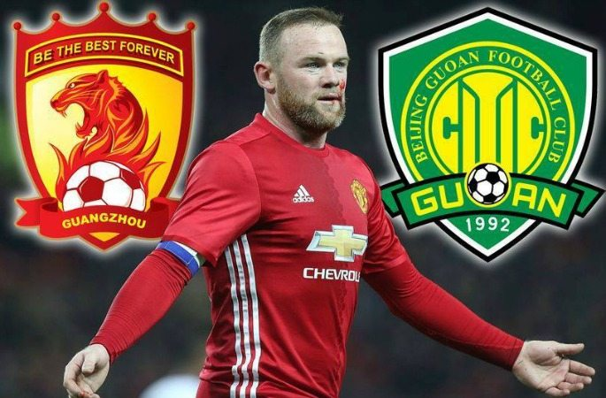 Could Wayne Rooney move to China before February 28, 2017?