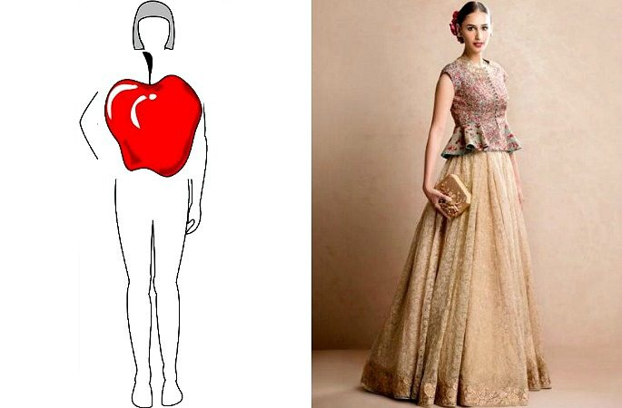 Choosing the Right Lehenga Style for your Body Shape