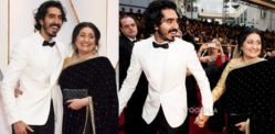 Dev Patel's Mum wears Saree to Oscars 2017