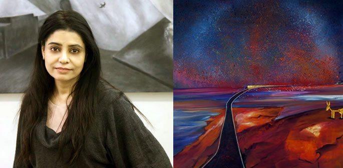 Manu Singh ~ Speaking Her Heart through Paintings