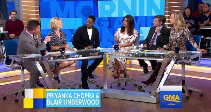 Priyanka Chopra appears on Good Morning America