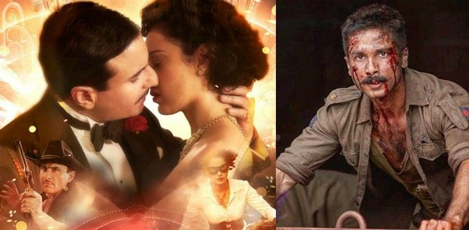 Rangoon ~ A Vintage Love-Story Amidst War & Conflict